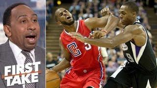 Is Rajon Rondo a hypocrite for calling Chris Paul a 'bad teammate'? - Stephen A. Smith | First Take