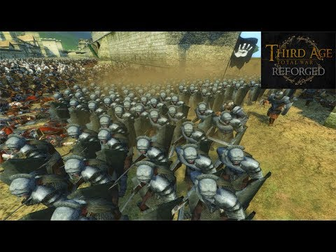 Third Age: Total War (Reforged) - CAMELOT (Battle Replay)