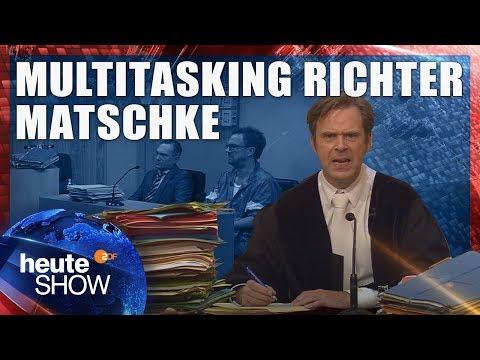 So überlastet sind die deutschen Gerichte | heute-show vom 13.10.2017