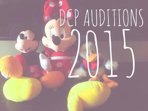 Disney Auditions 2015 (Dallas)