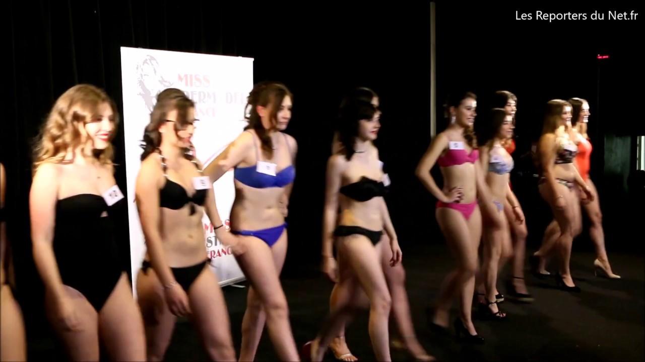 Défilé des candidates de Miss Petite de France en Maillot ...