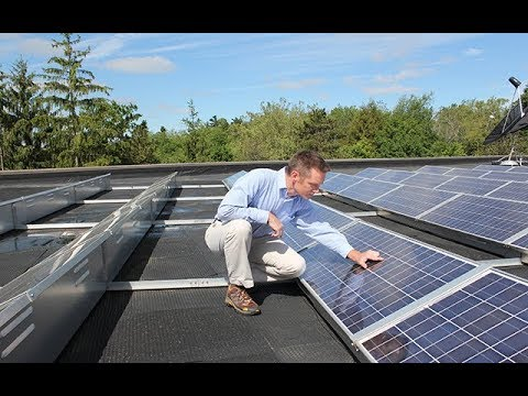 Solar arrays at Denison University