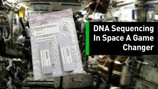 For The First Time Ever, DNA Was Sequenced In Microgravity thumbnail