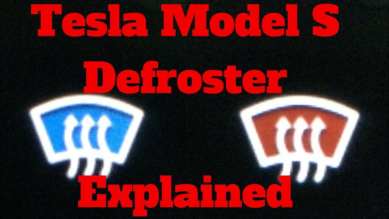 Tesla Model S Iii X Defrost Button Explained Youtube