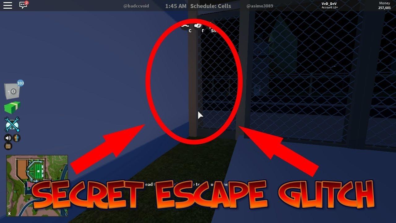 Roblox Jailbreak Secret Escape Glitch Youtube