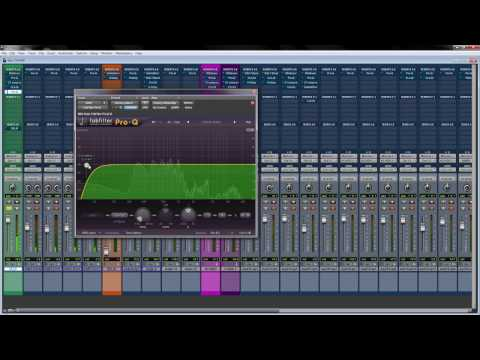 Mixing a Rap Song Start to Finish!