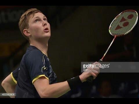 Badminton Backhand Smash Compilation : Viktor Axelsen's gift to Du Pengyu