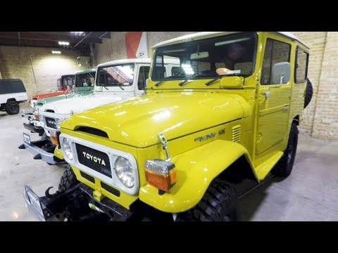Toyota Land Cruiser FULL HISTORY - Private Museum Tour