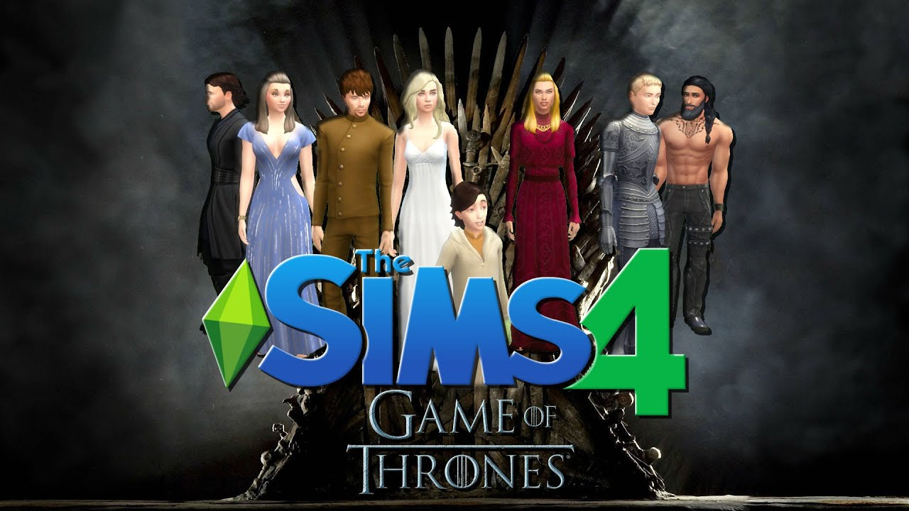 The Sims 4 Game Of Thrones Challenge Season 1 Part 1 Youtube