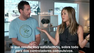 Jennifer Aniston y Adam Sandler son Criminales en el mar en Netflix