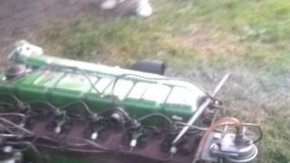 perkins 6354 running  6 cylinder