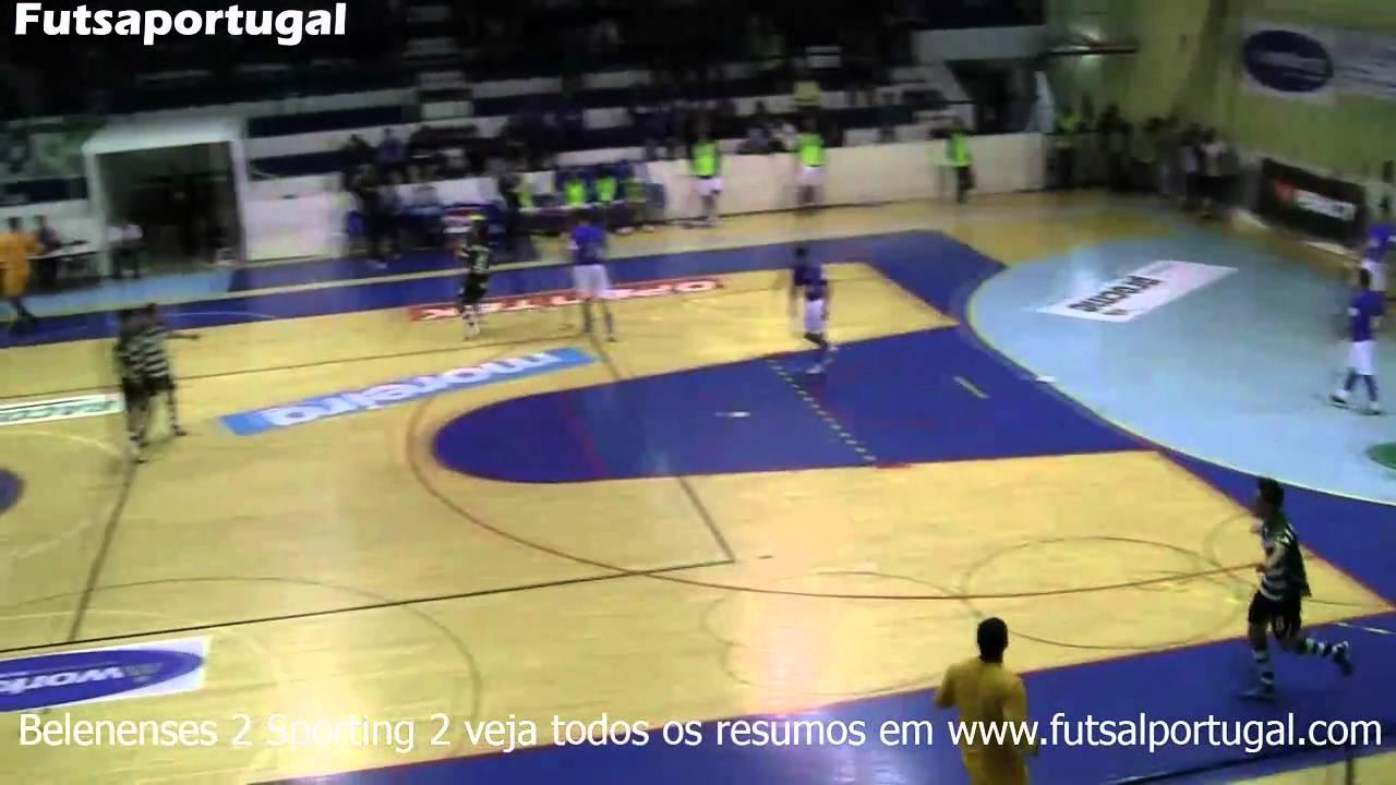 Futsal :: 09J :: Belenenses  - 2 x Sporting - 2 de 2010/2011