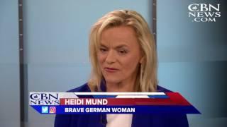 Brave German Woman: Breaking the 'Dark Cloud' of Islamic Immigration