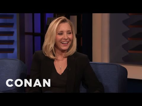 Lisa Kudrow Really Likes To Gamble - CONAN on TBS