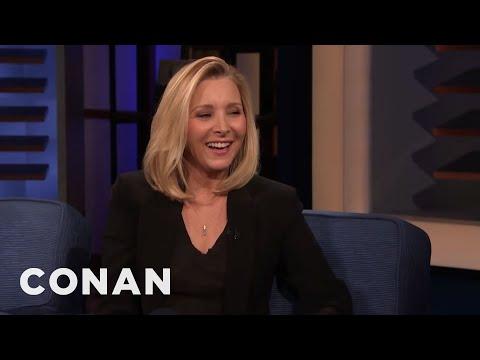 Lisa Kudrow Really Likes To Gamble - CONAN on TBS