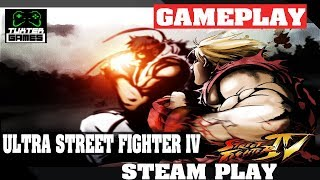 Steam Play (Proton) - Ultra Street FIghter IV