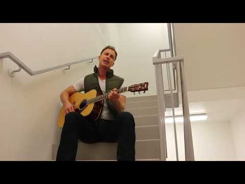Grant Landry Watch Over You Stairwell Jam Cover LIVE