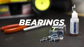 HOW TO CLEAN BEARINGS    RC Tips & Maintenance