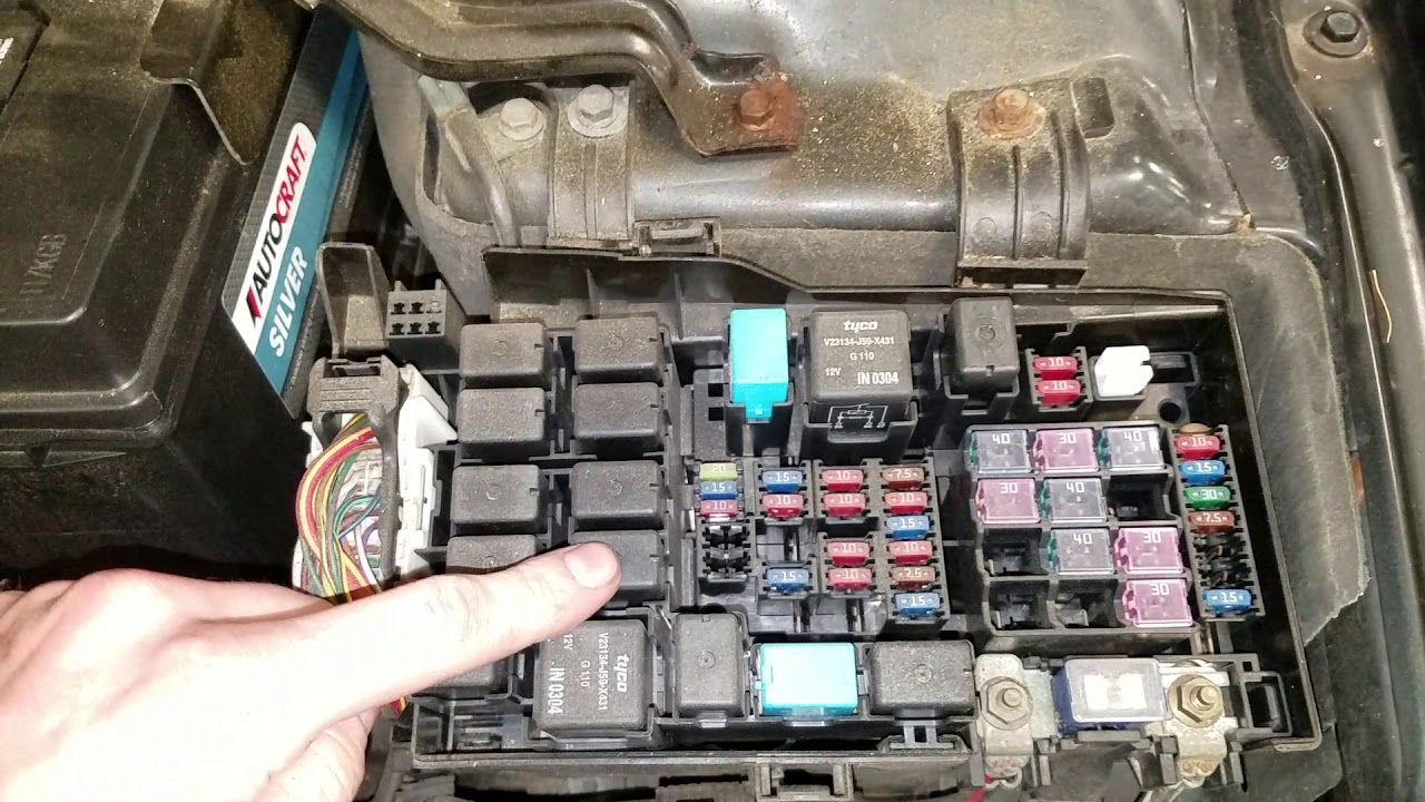 Mazda 6 Ac Fuse Ac Relay Location