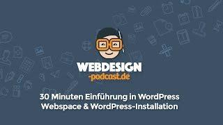Webspace bei Webgo einrichten und WordPress installieren - Webdesign-Podcast.de - Folge 40
