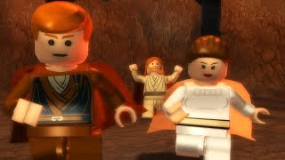 LEGO Star Wars The Complete Saga Walkthrough Part 9 - Skywalker Rescue!