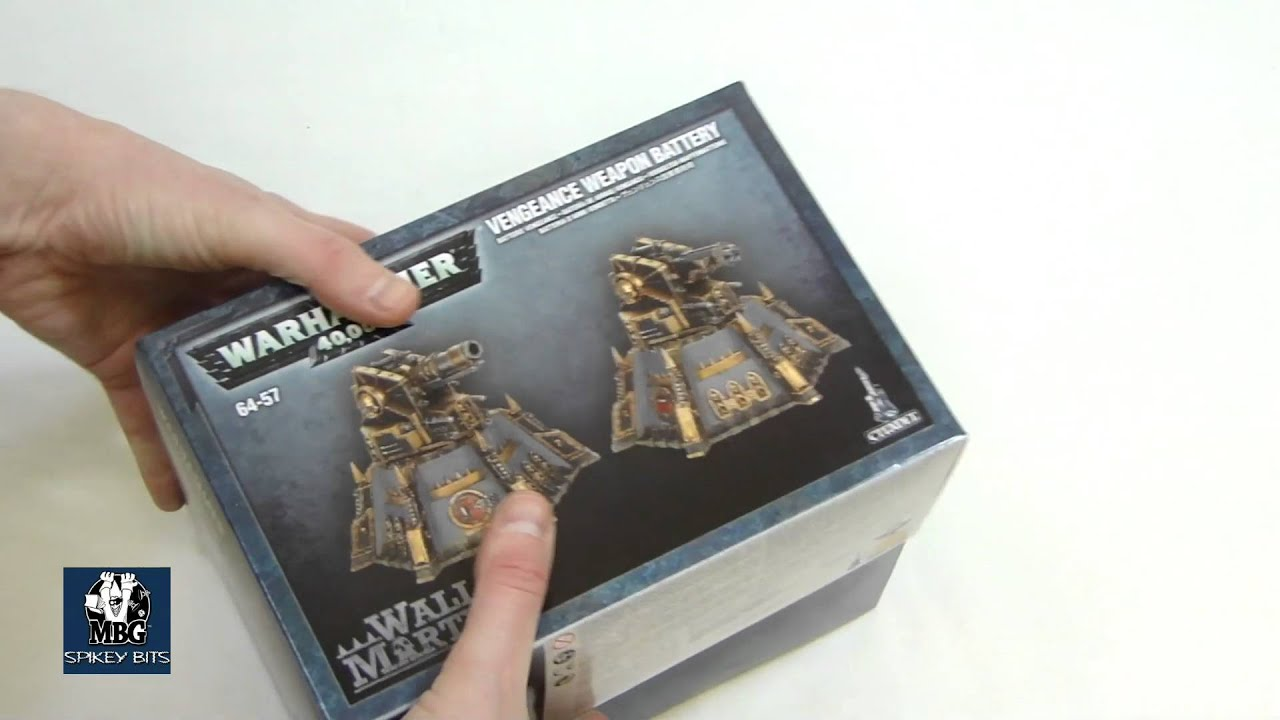 New Warhammer 40k Apocalypse Fortification Kit Review