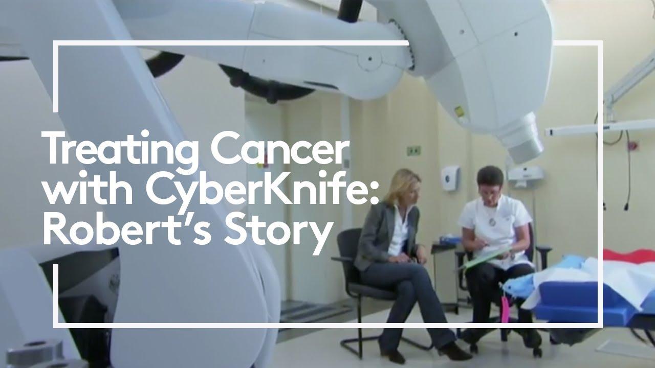 videointervención para el cáncer de próstata con cyberknife