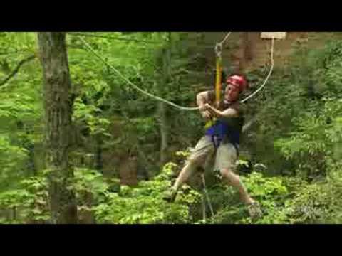 Zip Line Canopy Tour In West Virginia Ace Adventure Resort Youtube
