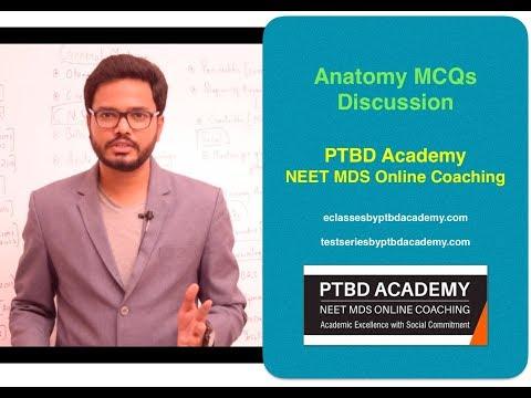 Anatomy MCQs Discussion 2