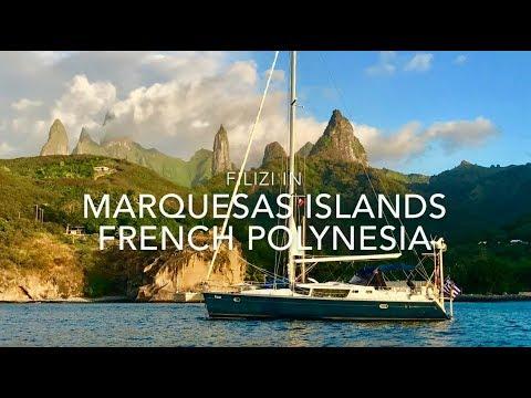 Sailing Filizi in Marquesas HD