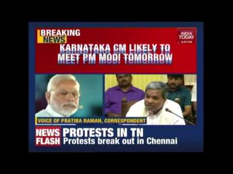 Siddaramaiah Has Sought An Urgent Appointment with PM Modi