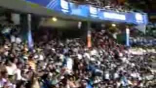 Crowd cheering Sachin !!