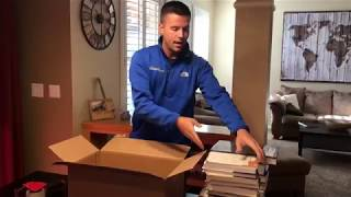 Packaging tips for shipping books to an Amazon FBA warehouse