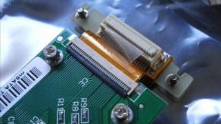 hp2510Pの1.8インチHDDをmSATA/SDDに換装