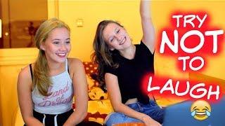 TRY NOT TO LAUGH & REAKCE NA NAŠE VIDEA w/Sabina Rojková