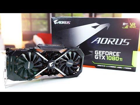 Майнинг риг AORUS GTX 1080ti более года в майнинге, обслуживание карт