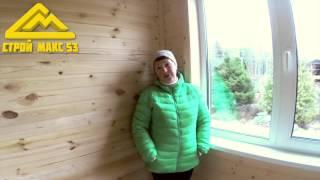 Видео - отзыв о строительстве каркасного дома в Ленинградской области(, 2015-12-12T15:49:13.000Z)