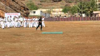 Sainik School Bijapur, Maratha Light Infantry Band at Badami  8