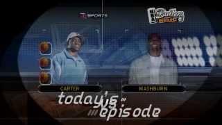 NBA Ballers: Rebound Gameplay Vince Carter Vs. Jamal Mashburn (PSP)