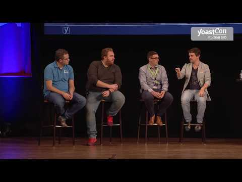 YoastCon 2017 - Panel discussion by SEO experts