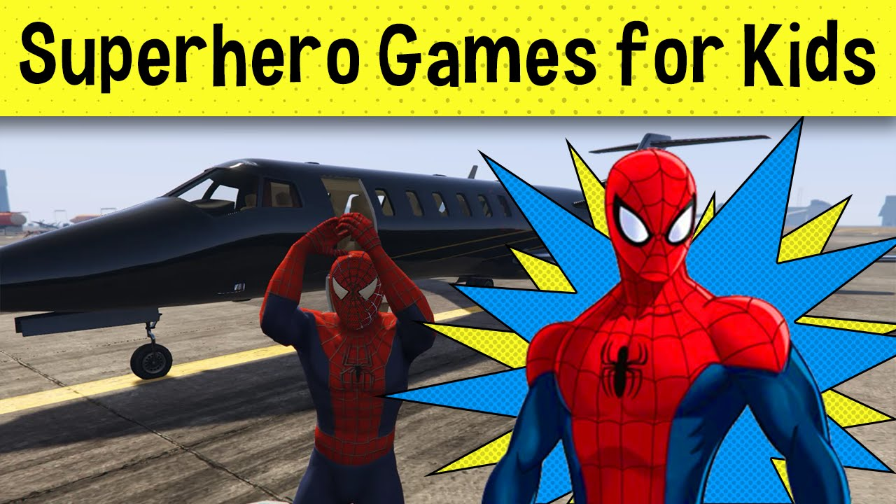 Uncategorized Spiderman Games For Kids spiderman delivers airplane games for kids and more youtube more