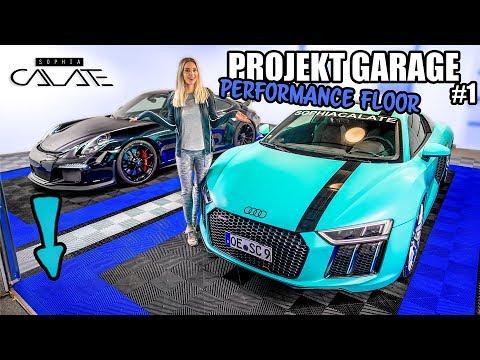 Projekt Garage | Neuer Boden | Performance Floor