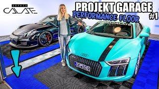 Projekt Garage   Neuer Boden   Performance Floor