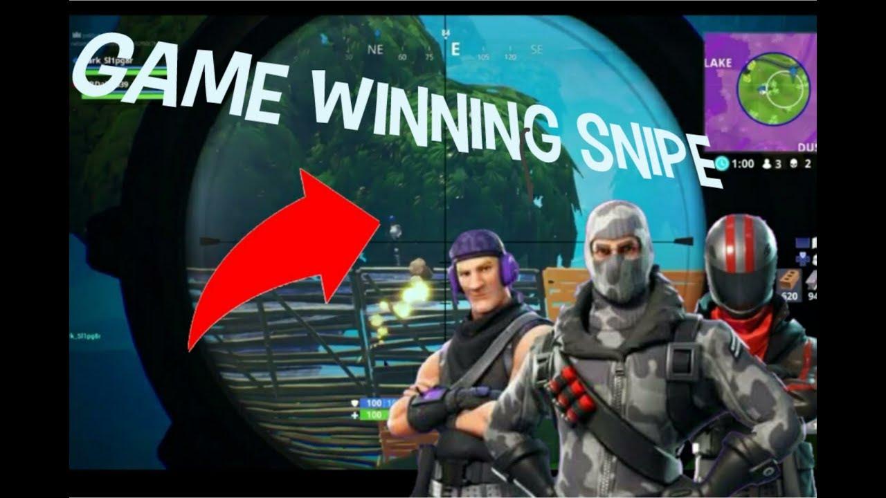 My best snipe