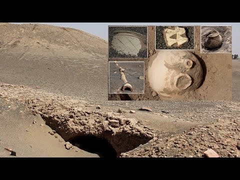 Sandstorm in Iran Unearthed Ancient City
