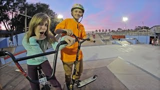 Webisode 58: Scooters in a BMX video!?