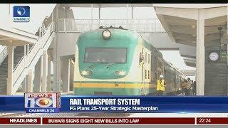 FG Plans 25-Year Strategic Masterplan For Rail Transport System Pt.2 |News@10| 27/01/18