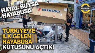 Suzuki Hayabusa Türkiyede Kutu Açılışı ve İlk Tur