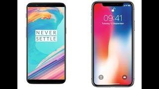iPhone X vs OnePlus 5T Phone Specs Comparison