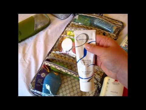 What's in my Toiletries Bag Caribbean Vacation